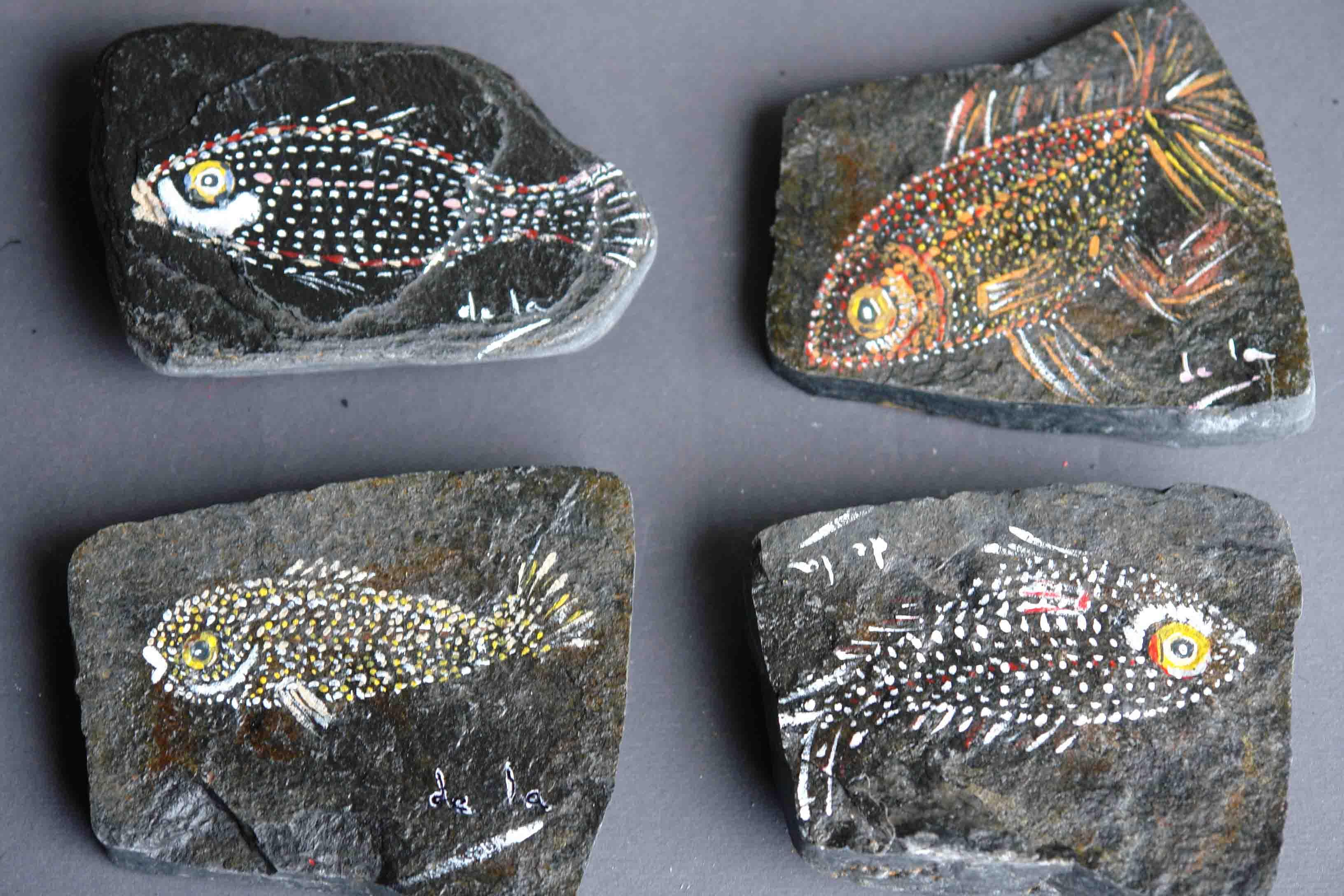 Piedras pintadas taller de la - Pintura de pizarra precio ...