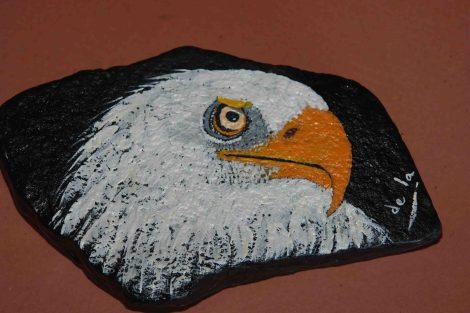Cabeza de águila real